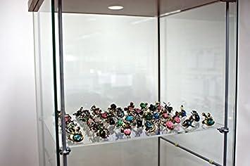 Custom Extra Acrylic Shelves Brackets To Fit Ikea Detolf Cabinet