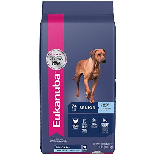- EUKANUBA Senior Large Breed Dog Food 30 Pounds