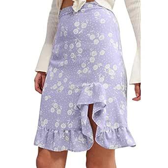 Faldas Cortas Volantes Kawaii, Mujeres de la Moda de impresión de ...