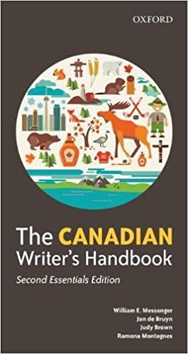 Second Essentials Edition The Canadian Writers Handbook