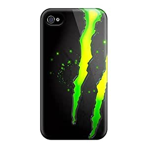 Scratch Protection Hard Cell-phone Cases For Iphone 6 With Provide Private Custom Lifelike Monster Image AaronBlanchette