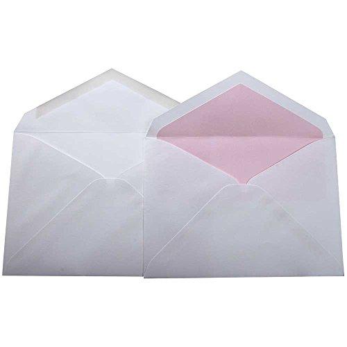 JAM Paper® Wedding Envelope Sets - 5 3/4