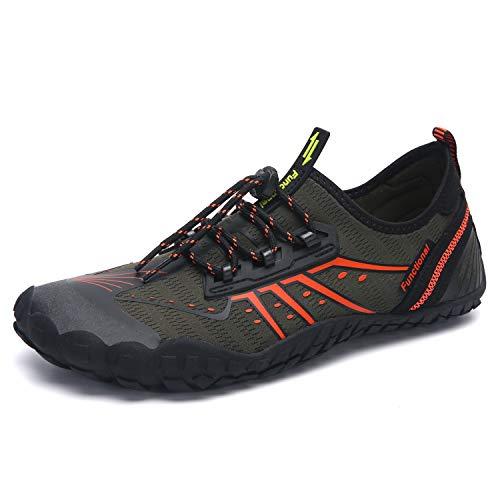 DLGJPA Mens Womens Water Shoes Quick Dry Barefoot for Beach Swim Aqua Sports Pool Walking Shoes (Best Barefoot Shoes 2019)