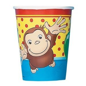 Curious George 9 oz. Cups]()