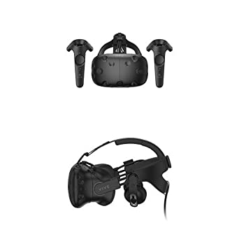 htc vive virtual reality video gaming system. htc vive - virtual reality system + deluxe audio strap htc vive video gaming u