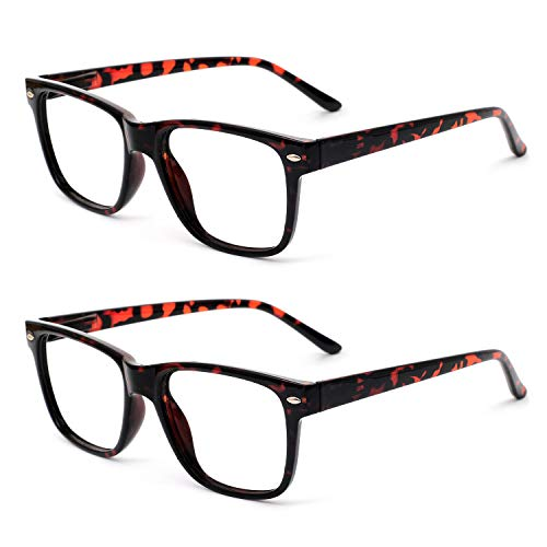 OCCI CHIARI Reading Glasses Readers Women Men Prescription Eyeglasses Computer Eyewear Hinge 2 Pack 125 from OCCI CHIARI