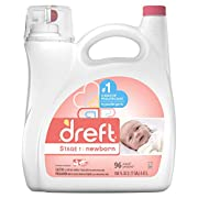 Dreft Stage 1: Newborn Liquid Laundry Detergent (HE), 150 oz, 96 loads
