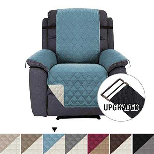 - H.VERSAILTEX Premium Reversible Couch Slipcover, Slip-Resistant Recliner Cover Recliner Slipcover, 2
