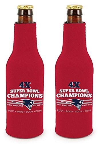 【NEW限定品】 新しいEngland Patriots 4 x Super Bowl Champions Super B00T59RWXK NFL Commerative Pack Bottle Suitクージーホルダー2 - Pack B00T59RWXK, ゴトウスポーツ(SPG-SPORTS):9e9c3617 --- movellplanejado.com.br