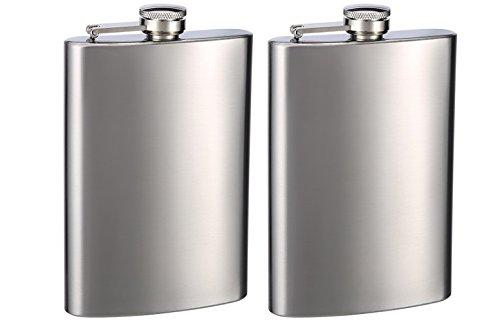 【国産】 Top Flasks Shelf Shelf B078WYV1J5 Flasks 8オンスPersonalizedヒップフラスク、2パック B078WYV1J5, 工房壱:827b9aa9 --- a0267596.xsph.ru