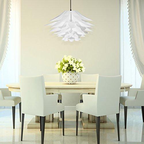 Diy Dining Room Light: Excelvan DIY Kit Lotus Chandelier IQ PP Pendant Lampshade