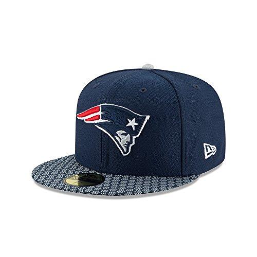 年パリティ育成ニューエラ (New Era) 59フィフティ キャップ - NFL サイドライン 2017 ニューイングランド?ペイトリオッツ (New England Patriots)