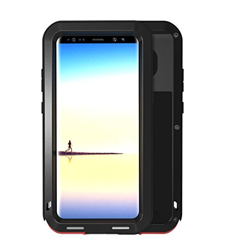 Amazon.com: Love Mei Galaxy Note 8 Case Metal Extreme Aluminum Military  Heavy Duty Shockproof Water Resistant Dust/Dirt/Snow Proof Protection Cover  For ...