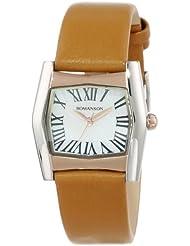 Romanson Womens RL2623LL1JM15R Classic Swiss Quartz Mother-Of-Pearl Dial Watch