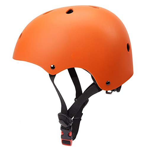 - Glaf Kids Bike Helmet Toddler Helmet Multi-Sport Skateboard Scooter Cycling Helmet CPSC Certified Impact Resistance Ventilation Adjustable Kids Helmet for Kids Youth 3-14 Years Old +(Orange,Small)