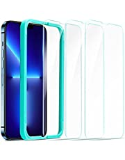 ESR Tempered-Glass Screen Protector Compatible with iPhone 13 Pro Max, with Easy Installation Frame, Ultra Tough, Clear, 3 Pack