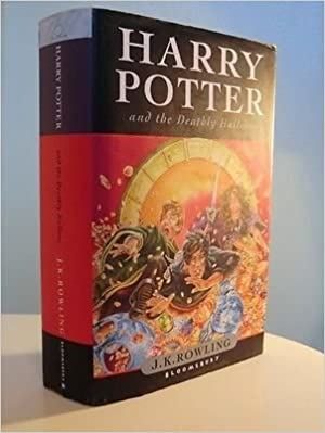 Harry Potter And The Deathly Hallows First Edition Amazoncouk