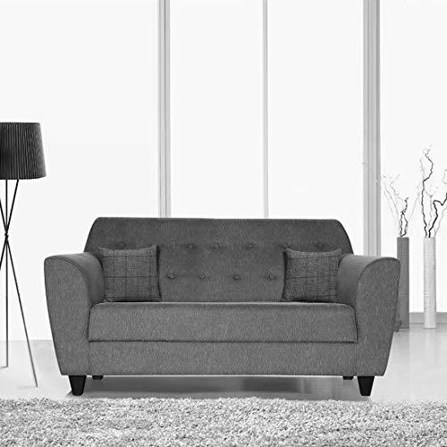 Trevi Bali 2 Seater Fabric Sofa   Grey