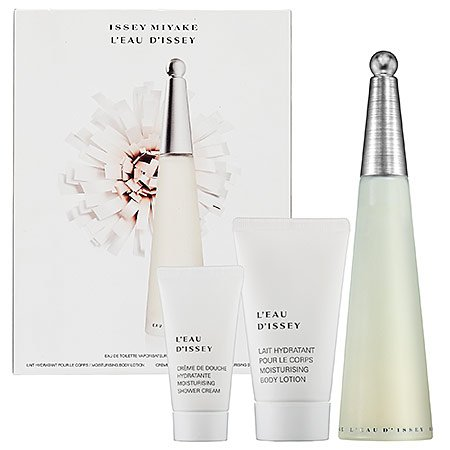 Issey Miyake L'eau D'issey 3 Piece Perfume Gift Set for Women