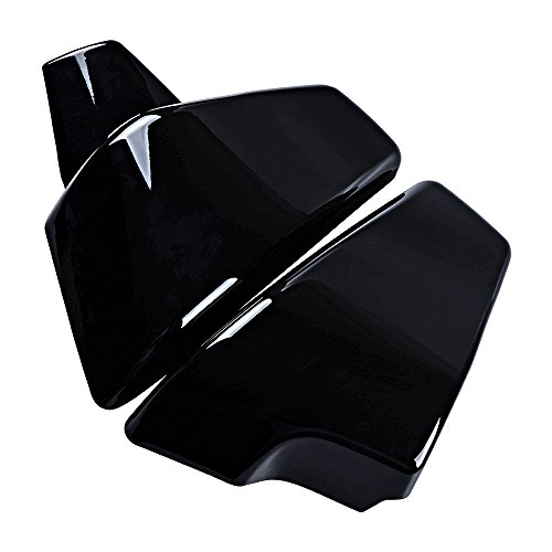 Price comparison product image ABS Black Battery Side Faring Cover For Honda Shadow VT600 VLX600 1999-2008