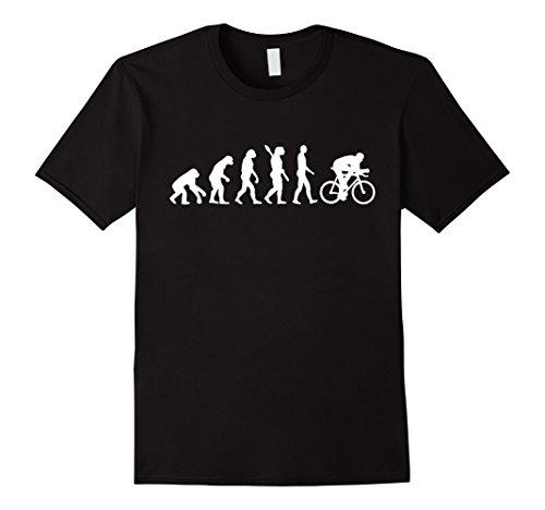 Mens Evolution cycling T-Shirt Large (Bike Evolution T-shirt)