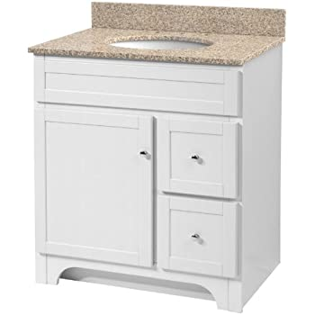 Foremost WRWAT3021D-8W Worthington 30-Inch White Bathroom ...