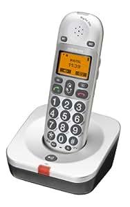 Audioline BIG TEL 200 - Teléfono inalámbrico