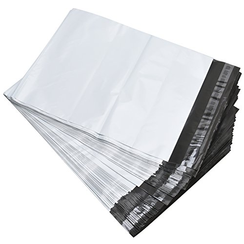 BESTEASY 100 14.5x19 White Poly Mailers Shipping Envelopes Bags Photo #4