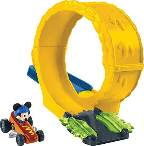 - Fisher-Price Disney Mickey & the Roadster Racers, Mustard Run Track Set
