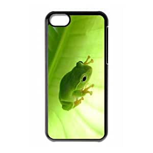 Frog iPhone 5c Cell Phone Case Black ttyy