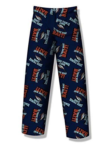 Fun Boxers Mens Fishing Fun Prints Pajama & Lounge Pants, Fishing - Good Things, Large (Fishing Boxer)