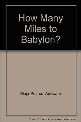 Youve means Book Report How Many Miles To Babylon