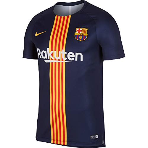 7de4ea9830d Nike Men s Soccer F.C. Barcelona Dri-Fit Squad Training Top (Small)