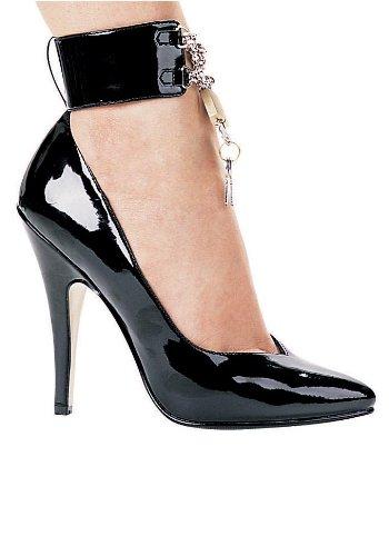 Ellie Shoes Womens 5 Inch Heel Pump With Lock and Key myAHji