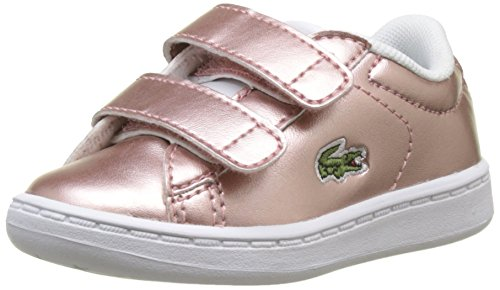 pnk Rose Evo Lacoste 2 F50 Carnaby Baskets Spi Fille 318 wht 1H18qxa