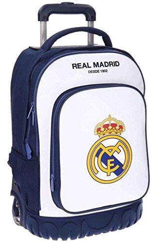 Maleta Juvenil Compact Real Madrid Campus Blanca