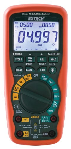 Wireless True Rms Multimeter - Extech EX542 Wireless 433MHz True RMS Industrial MultiMeter/Datalogger