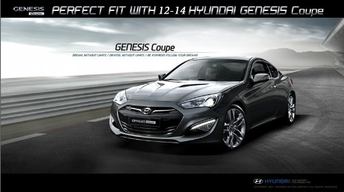 Amazon.com: DALLIZA Rear Trunk Lip Spoiler PAINTED 1 Pc Set For 2010 2011  2012 2013 Hyundai Genesis Coupe (NBA   Space Black): Automotive