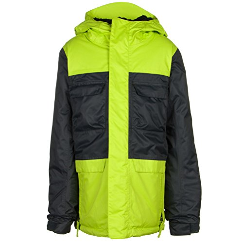 Boy's Approach Insulated Jacket, Small, Gunmetal