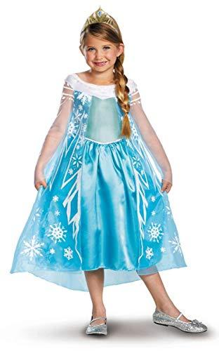 Disguise Frozen Elsa Child Deluxe 3T-4T