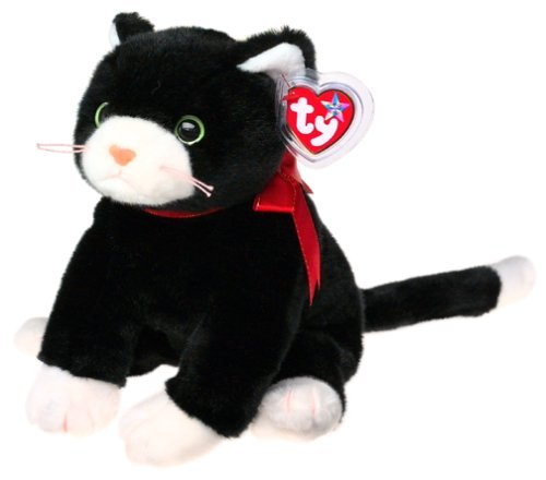 Beanie Buddies Ty Zip - Black Cat