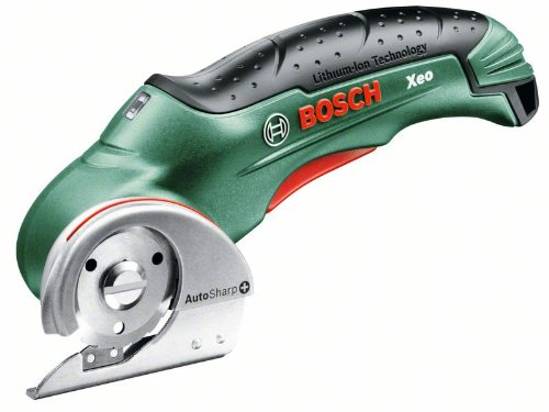 Bosch Xeo HomeSeries Akku-Universalschneider + Ladegerät (max. Schnittstärke 6 mm, 0,4 kg, 3,6 V)