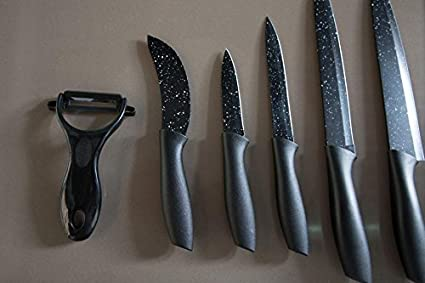 Cecotec Set de 7 Cuchillos Premium: Amazon.es: Hogar