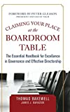 img - for Claiming Your Place at the Boardroom Table: The Essential Handbook for Excellence in Governance and Effective Directorship book / textbook / text book
