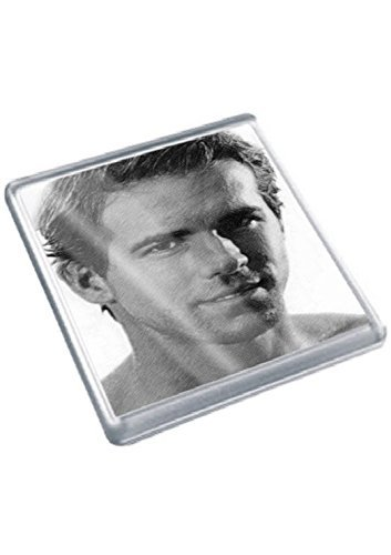 RYAN REYNOLDS - Original Art Coaster #js002