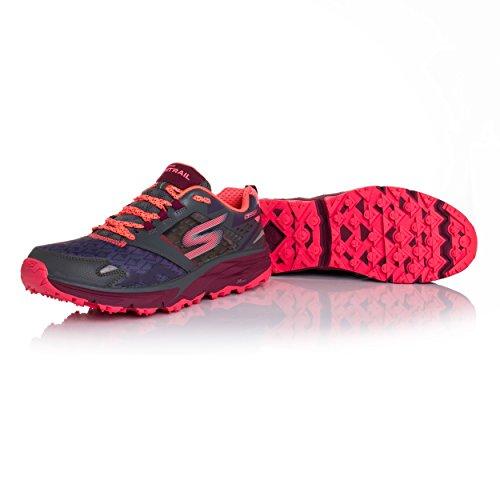Chaussure De Course Gotrail Pour Femme Skechers Anthracite / Multi