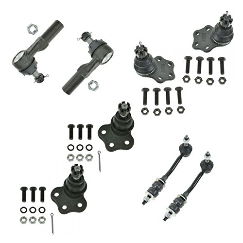 8 Piece Kit Tie Rod End Ball Joint Sway Bar Link LH RH for Durango Dakota 2WD