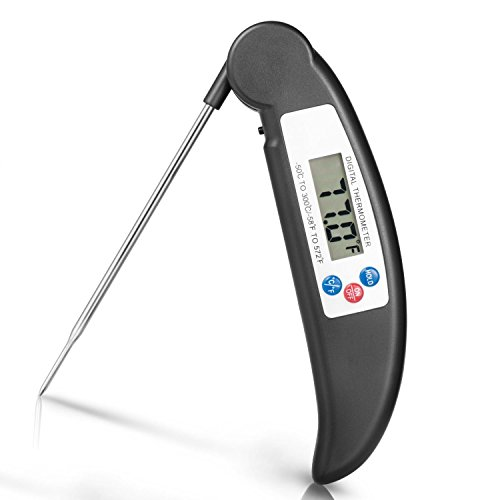 Instant Digital Thermometer Kitchen Grilling