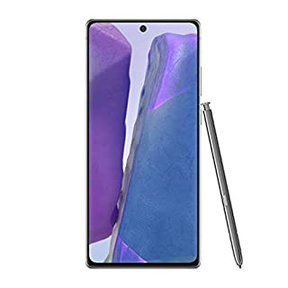 Samsung Electronics Galaxy Note 20 5G Factory Unlocked Android Cell Phone | US Version | 128GB of Storage | Mobile Gaming Smartphone | Long-Lasting Battery | Mystic Gray