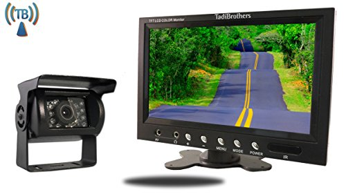 Cheap Tadibrothers 9 Inch Monitor with Wireless CCD Mounted RV Backup Camera